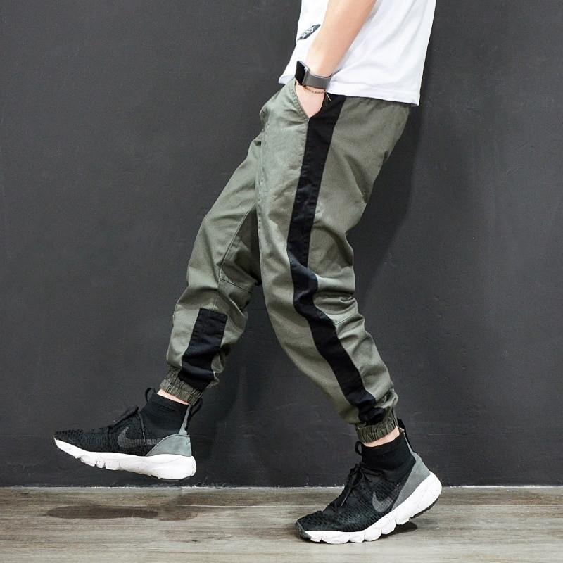 f4f7db104041 Мужские брюки джогеры с черным лампасом - Интернет-магазин обуви и одежды  KedON в Киеве