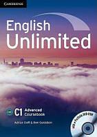 English Unlimited Advanced Coursebook with e-Portfolio DVD-ROM