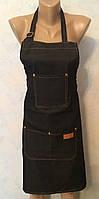 Фартук односторонний джинсовый SPL, 905072-1А