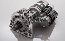 Стартер редукторный 12В 2,8Квт Slovak Усилений ЮМЗ