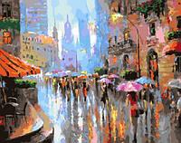 Картина по номерам Дождливый день
