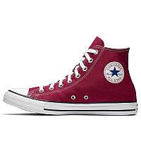 Мужские кеды Converse Chuck Taylor All Star High бордовые р.39 Акция -50%!