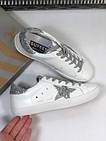 Стильні жіночі кеди Golden Goose Deluxe Brand SSTAR зірка (репліка), фото 1