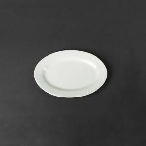 Блюдо для сельди, селедочница фарфоровая Helios 225х160 мм. A1405, фото 2