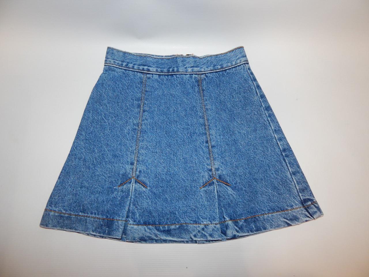 Юбка джинсовая детская BONGO ,рост 134-140 см., 079КР
