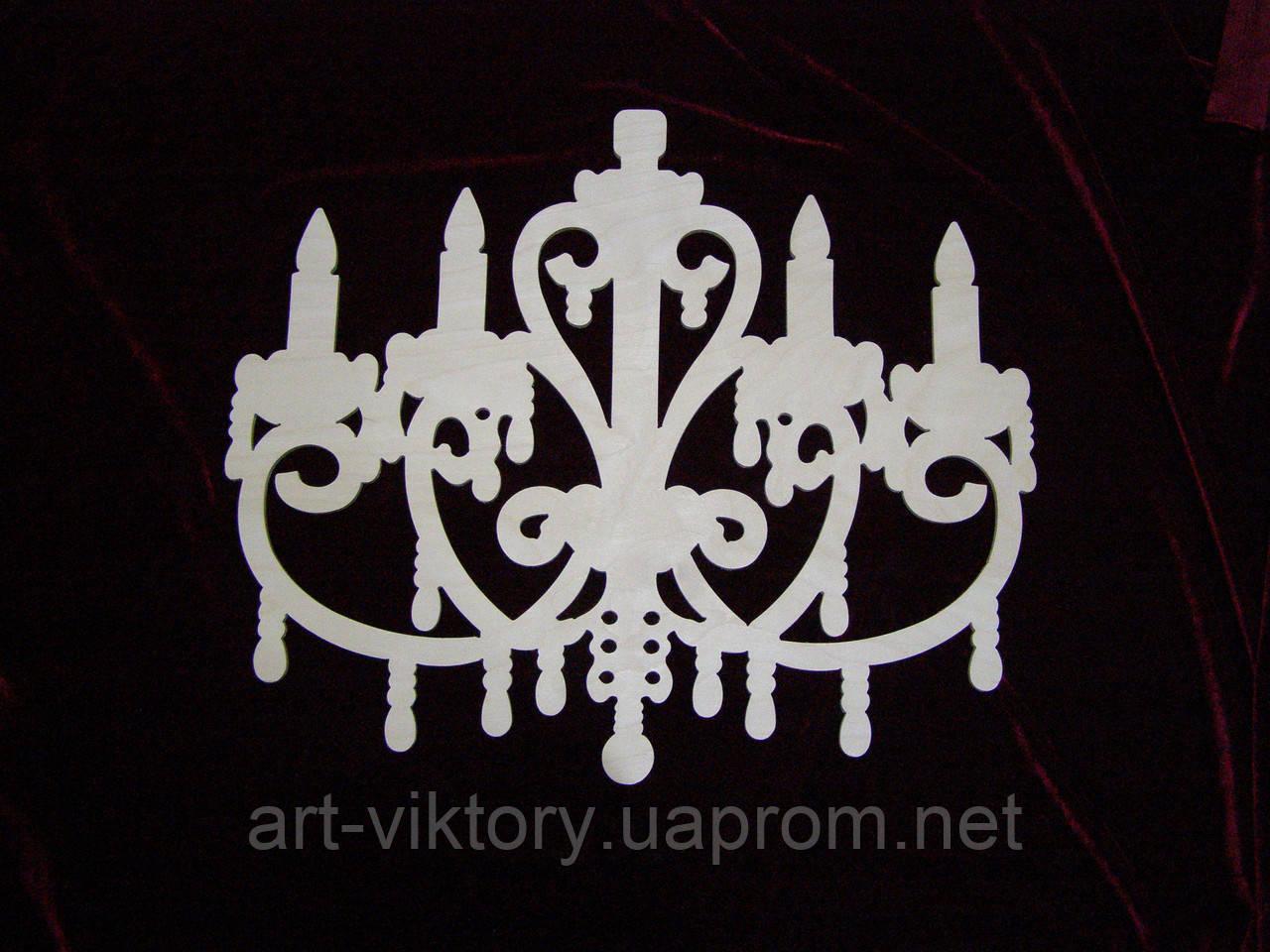 Люстра декоративная (47 х 40 см), декор