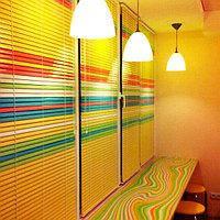 Горизонтальные цветные алюминиевые жалюзи 16 мм , фото 1