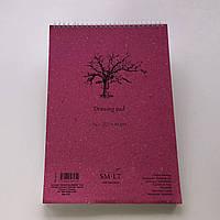 Альбом для рисунку на спіралі AUTHENTIC А4, 120г/м2, 60л, SMILTAINIS