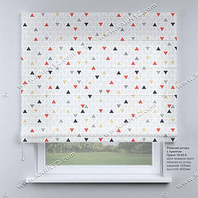 Римская фото штора Абстракция. Бесплатная доставка. Любой размер до 3,5х3,5м. Гарантия. Арт. 15-03-5