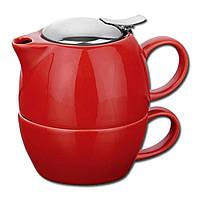 Набор для чая (Красный)
