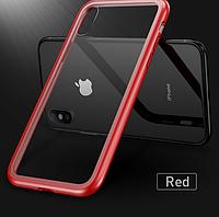 Магнитный чехол для iPhone 7/ 8 /6+ /7+ /8+ + второй чехол в  ПОДАРОК.Чохол магнітний для айфона