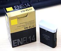 Аккумулятор EN-EL14 для фотокамеры Nikon D90, D300, D3100, D5100, D5200, D3200, P7000, P7100, P7700 (1030mAh)