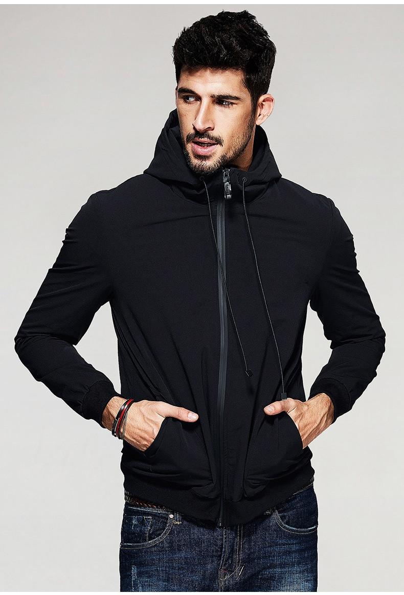 Чоловіча стильна куртка Softshell з капюшоном