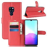 Чехол-книжка Litchie Wallet для Huawei Mate 20 Красный