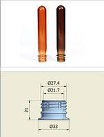 ПЭТ преформа PCO 1810 43 грамма