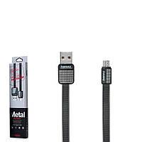 USB кабель Remax Platinum RC-044m MicroUSB 1m Black