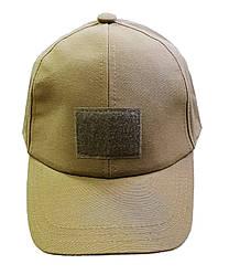 Тактическая кепка-бейсболка шестиклинка  КОЙОТ размер M, L, XL