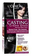 Крем-фарба для волосся без аміаку L'Oreal Paris Casting Crème Gloss 100 - Чорна ваніль180 мл 395