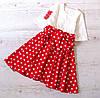 Детское платье р.146 Беатрис горох