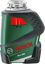 Лазерный нивелир (Лазерный уровень) Bosch PLL 360 Set, фото 3