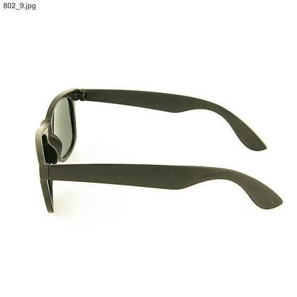 Солнцезащитные очки Wayfarer - Черные - 802, фото 2