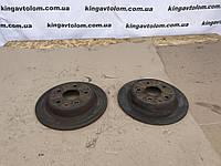 Тормозные диски блины пара задние Opel Insignia