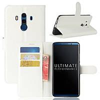 Чехол-книжка Litchie Wallet для Huawei Mate 10 Pro Белый