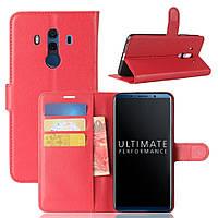 Чехол-книжка Litchie Wallet для Huawei Mate 10 Pro Красный