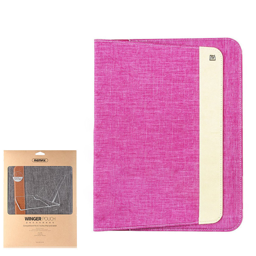 Чехол Remax Winger Pouch for iPad Pro 9.7 Pink