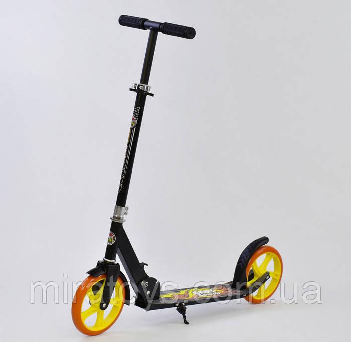 Двоколісний Самокат Best Scooter 00058 Чорний