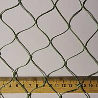 Сетка заградительная капроновая D 1,2 мм. 4,5 см. ячейка оградительная, для спортзалов, стадионов.