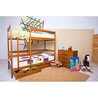 Кровать 2-х ярусная Амели 900х2000 венге (Олимп)