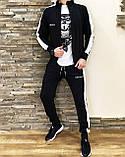 Мужской спортивный  костюм Miracle c  лампасами олимпийка  штаны, фото 7