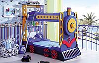 Кровать BASIA 900х1900 поезд (Сигнал)