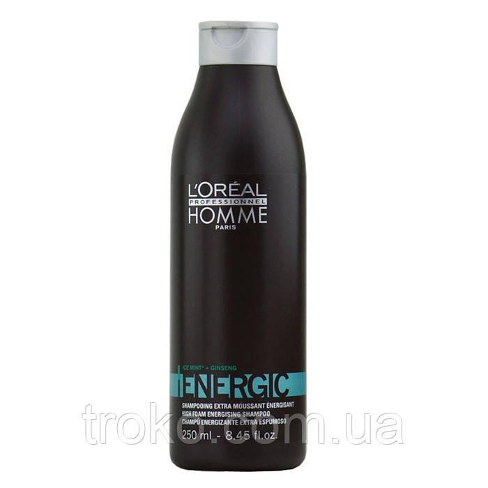 LOreal Professionnel Energic шампунь стимулирующий кожу головы, 250 мл