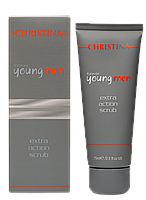 CHRISTINA FOREVER YOUNG MEN Extra Action Scrub - Скраб активного действия, 75 мл