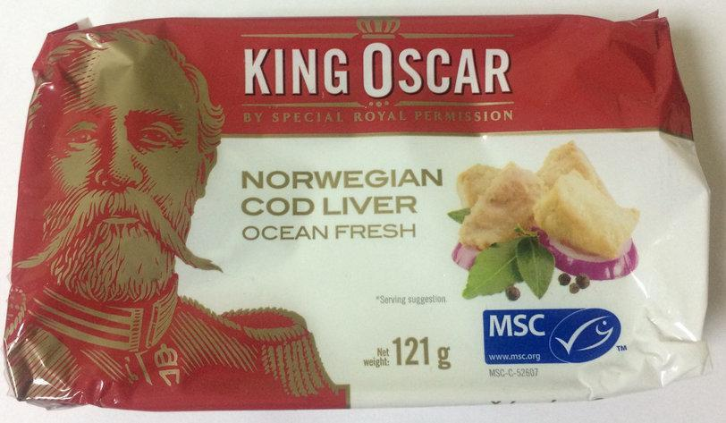 Печень трески King Oscar 121 g Норвегия