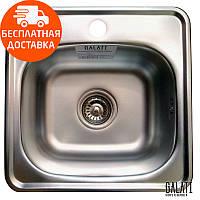 Кухонная мойка стальная Galati Eko Mala Satin 7125 нержавеющая сталь
