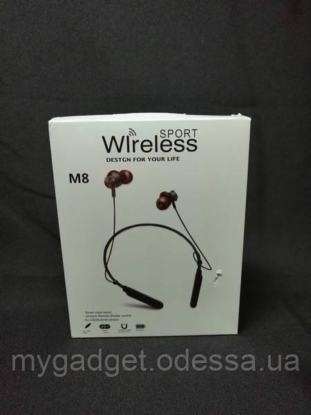 Наушники Bluetooth Sport Wireless M8