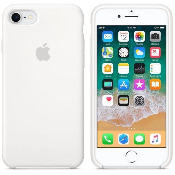 Панель Apple Silicone Case для Apple iPhone 7/8 White