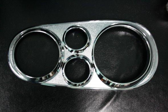 Накладки на фары очки V2 (2 шт, пласт) Volkswagen Golf 4