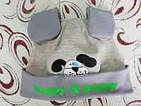 Детская шапка с ушками Happy puppy, 1-2 года