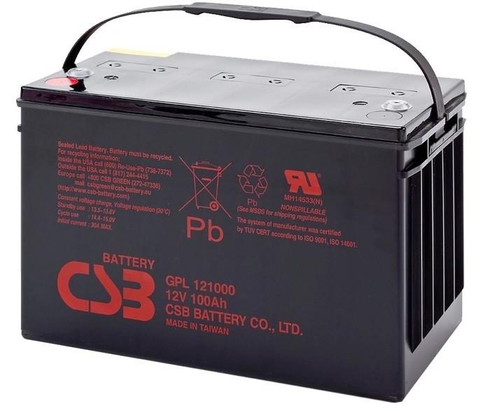 Аккумуляторная батарея CSB GPL121000 12V 100Ah