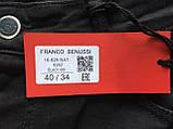 Батальные джинсы Franco Benussi Fb16-625 черные, фото 6
