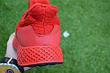 Мужские кроссовки Adidas Rad адидас красные сетка, копия, фото 4