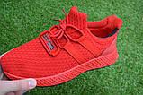 Мужские кроссовки Adidas Rad адидас красные сетка, копия, фото 6