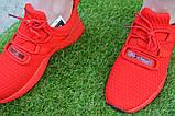 Мужские кроссовки Adidas Rad адидас красные сетка, копия, фото 8