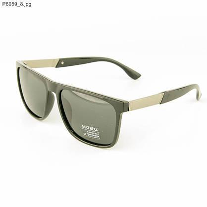 Солнцезащитные мужские очки поляризационные - Черные - P6059, фото 3