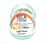 Nila Стразы Swarovski 2028 SS5 Light Peach - p 5 (100 шт) банка