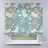 Римська фото штора Котики, фото 2